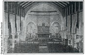 History – Interior of Church