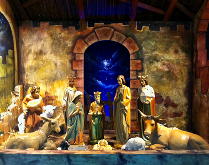 St John the Baptist Church Uddingston  Christmas 2020